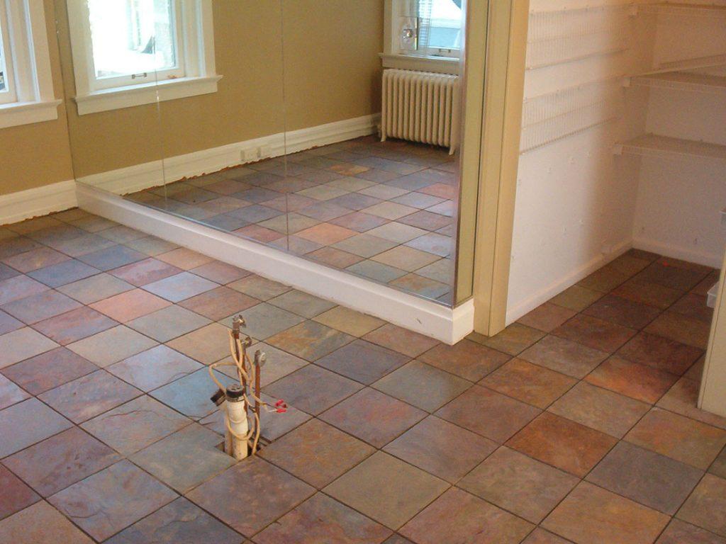 ... rustic tile flooring ... GWHWCXH