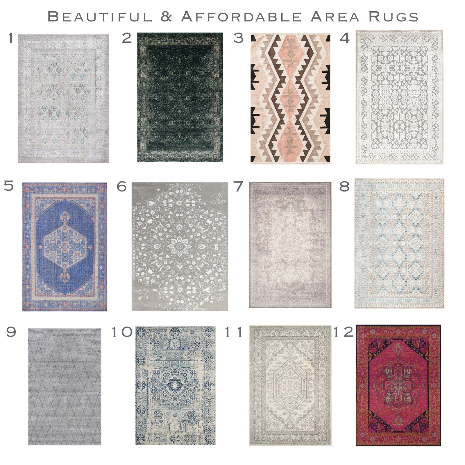 affordable area rugs today, iu0027ve rounded up some area rugs i am currently loving, for you. HXZBFUV