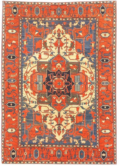 Afghan rugs afghan serapi pacific collection GANKGAI