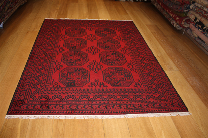 Afghan rugs – the bold and beautiful