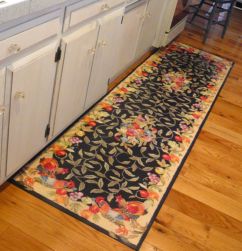 alluring country rugs and door mats primitive home decors of for kitchen ... PLGDRXC