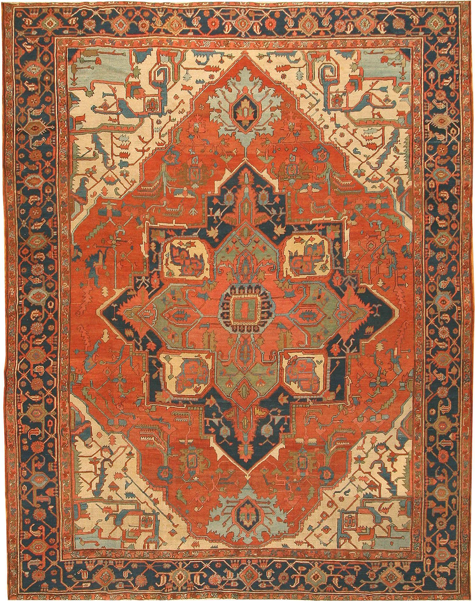 antique rugs antique-serapi-rug-42733-hr.jpg 1,563×1,975 pixels RTNLJSK