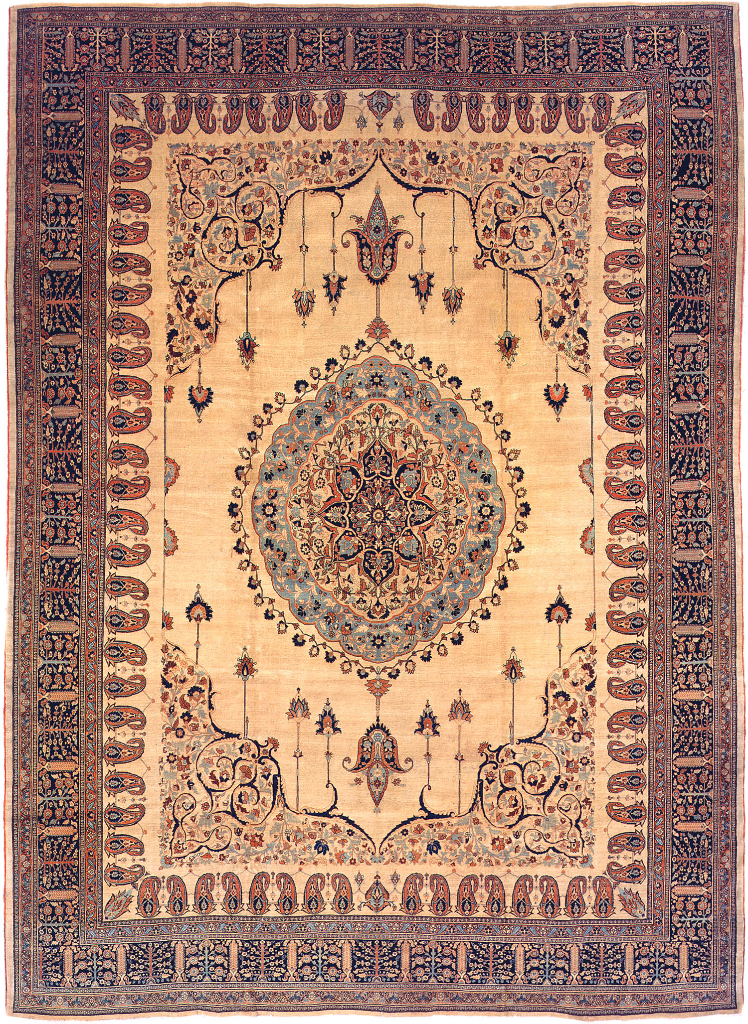 antique rugs antique tabriz rug from persia 3209 by nazmiyal ARTUJCY
