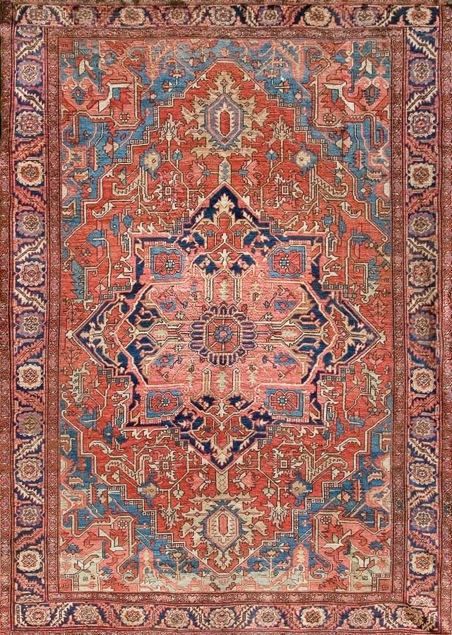 antique rugs check a rugu0027s edges first. QTSKYRA