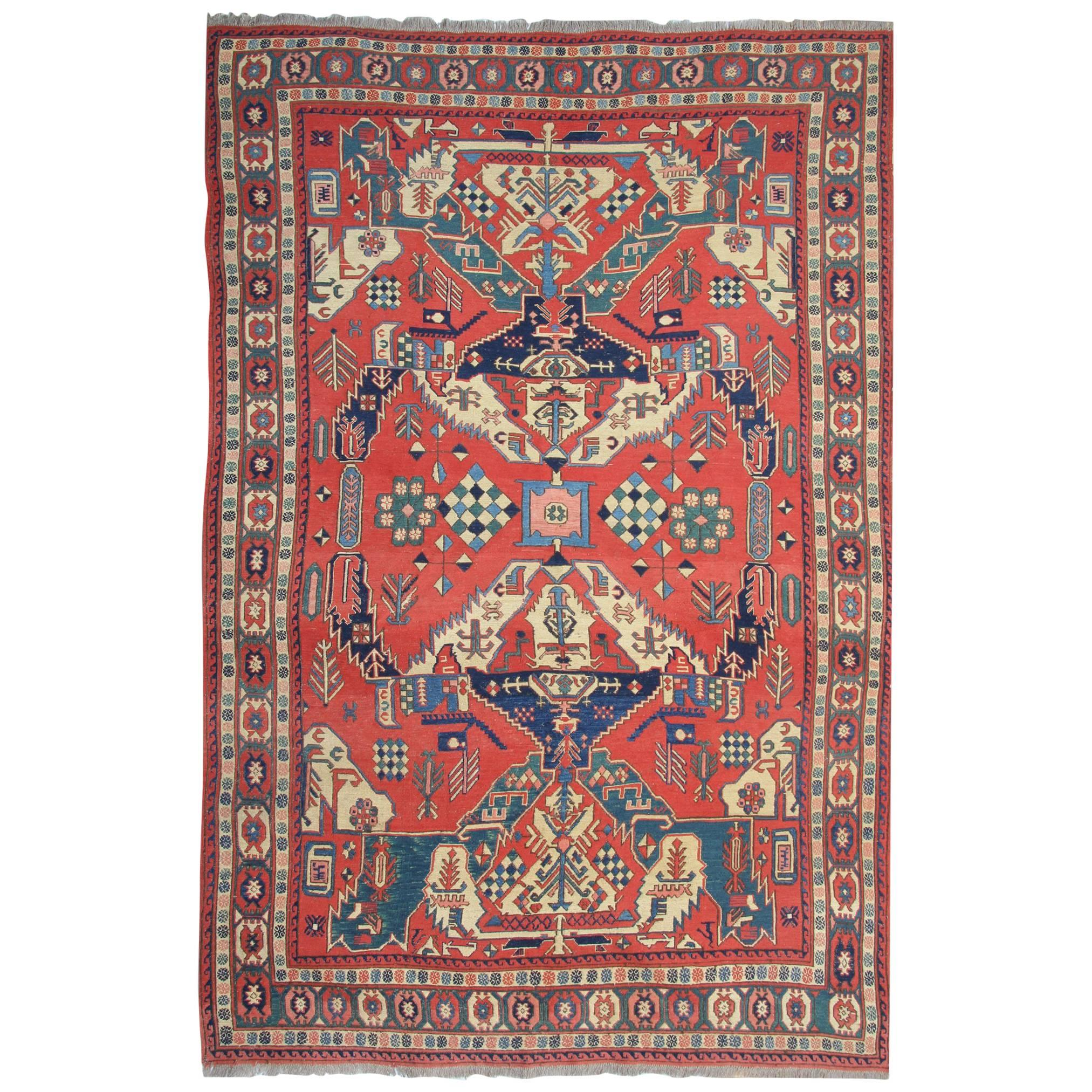 antique rugs, persian rugs, sumakh kilim rugs, carpet from iran for sale ZSCWMMF