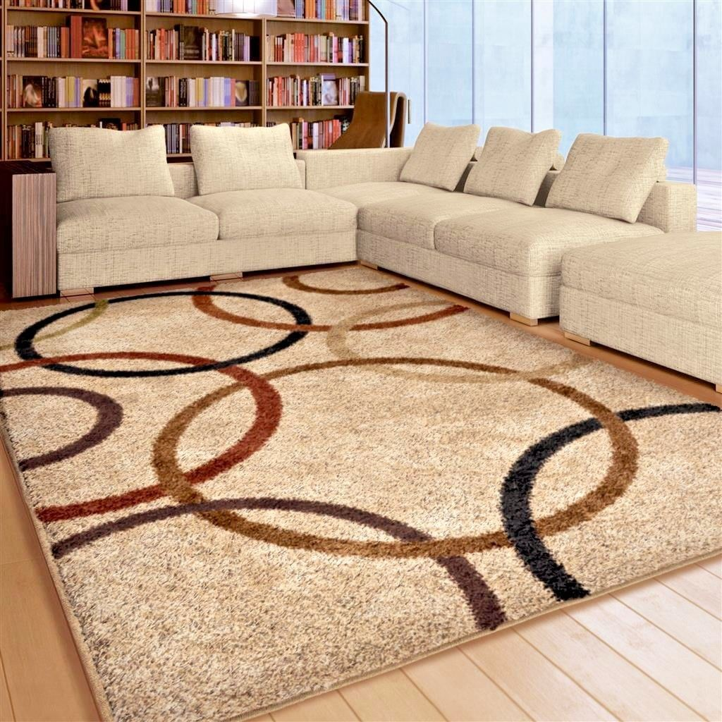 A precious touch with area carpet