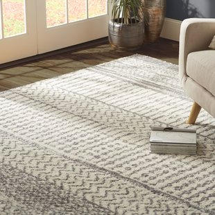 area rugs danny gray/ivory area rug WAVBOJP