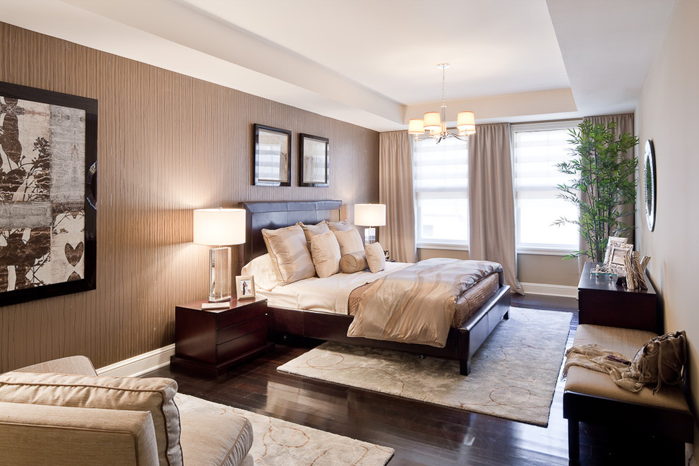 area rugs for bedroom ... bedroom contemporary with accent wall area rug. image by: window works KPAMUUD