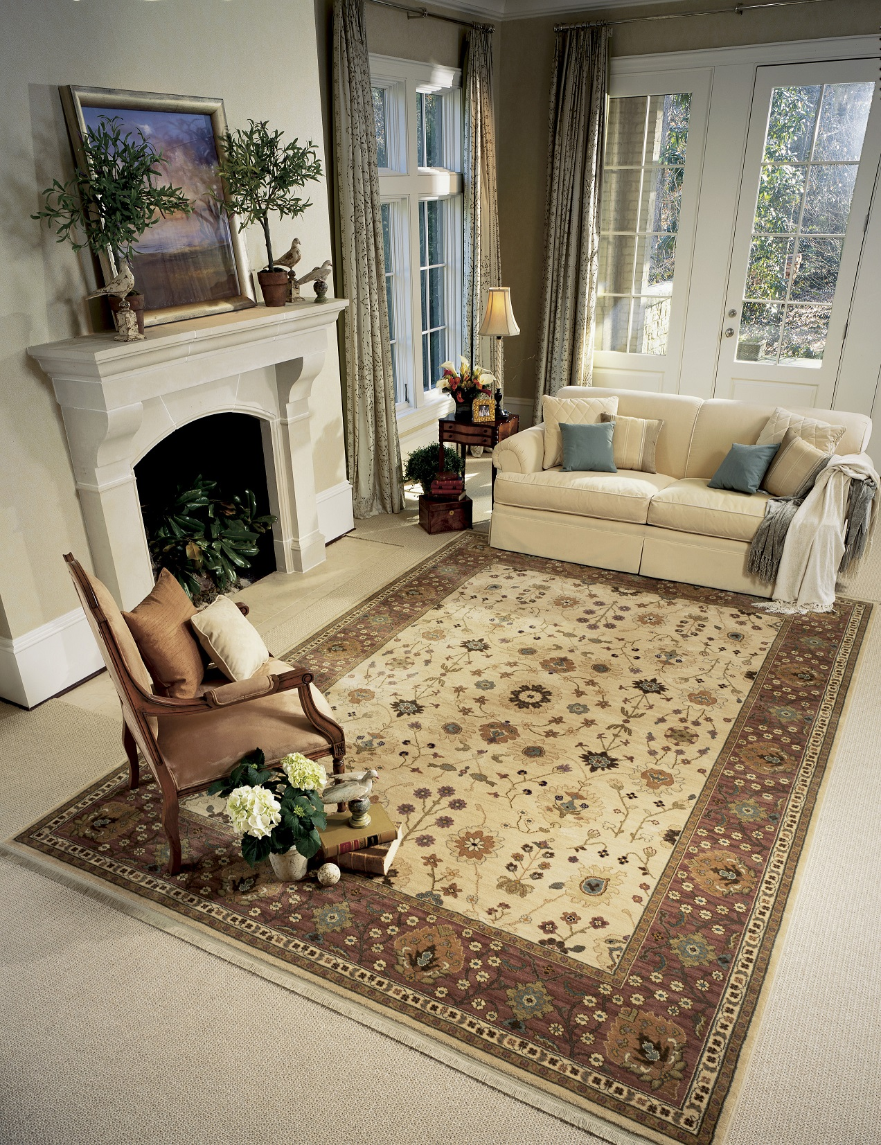 area rugs on carpet traditional area rugs DYEJOQR