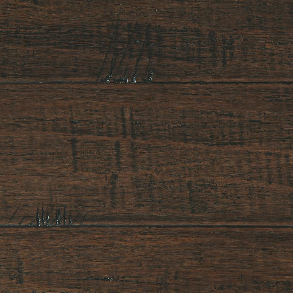 bamboo laminate flooring home decorators collection hand scraped strand woven wellington 3/8 in. t x AKSUZDN
