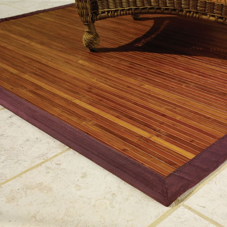 Bamboo rugs can be a good option than other rugs
