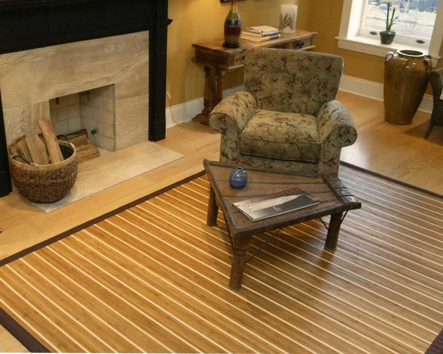 Bamboo rugs natural bamboo rugs FUSHZIK