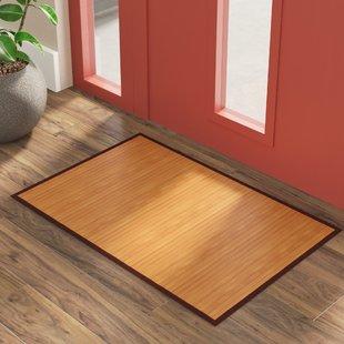 Bamboo rugs sloan hand woven brown area rug CUCELDD
