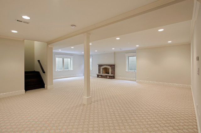 basement carpet 4 clyde, golf il traditional-basement CQYTOOC