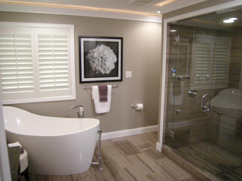 Bathroom floors featured in bathtastic! episode  EKZOZYU