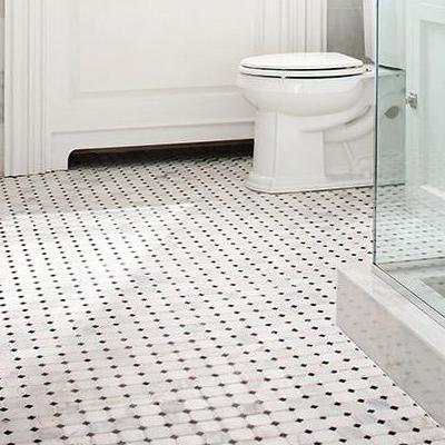 Bathroom floors mosaic FQVNGKU