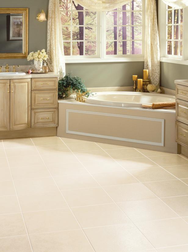 Bathroom floors vinyl bathroom floors | hgtv SADBDLP