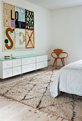 berber rug bedroom natural bedroom with beni ourain berber rug UOVMFQG