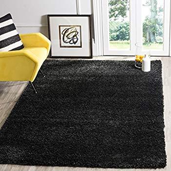 black area rugs safavieh california premium shag collection sg151-9090 black area rug (3u0027 x  5 DNOACUG