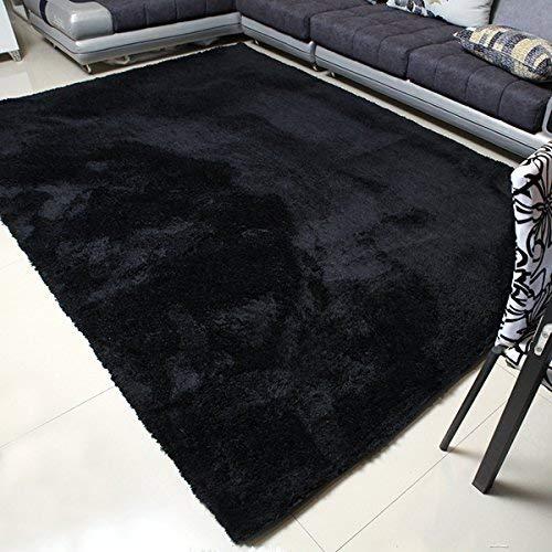 black rugs mbigm super soft modern area rugs, living room carpet bedroom rug, nursery ROWUSJL