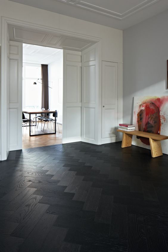 black wood flooring 3 dark floors types and 26 ideas to pull them off digsdigs inside HBWNRSL