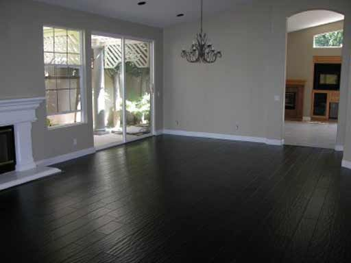 An overview of black wood flooring