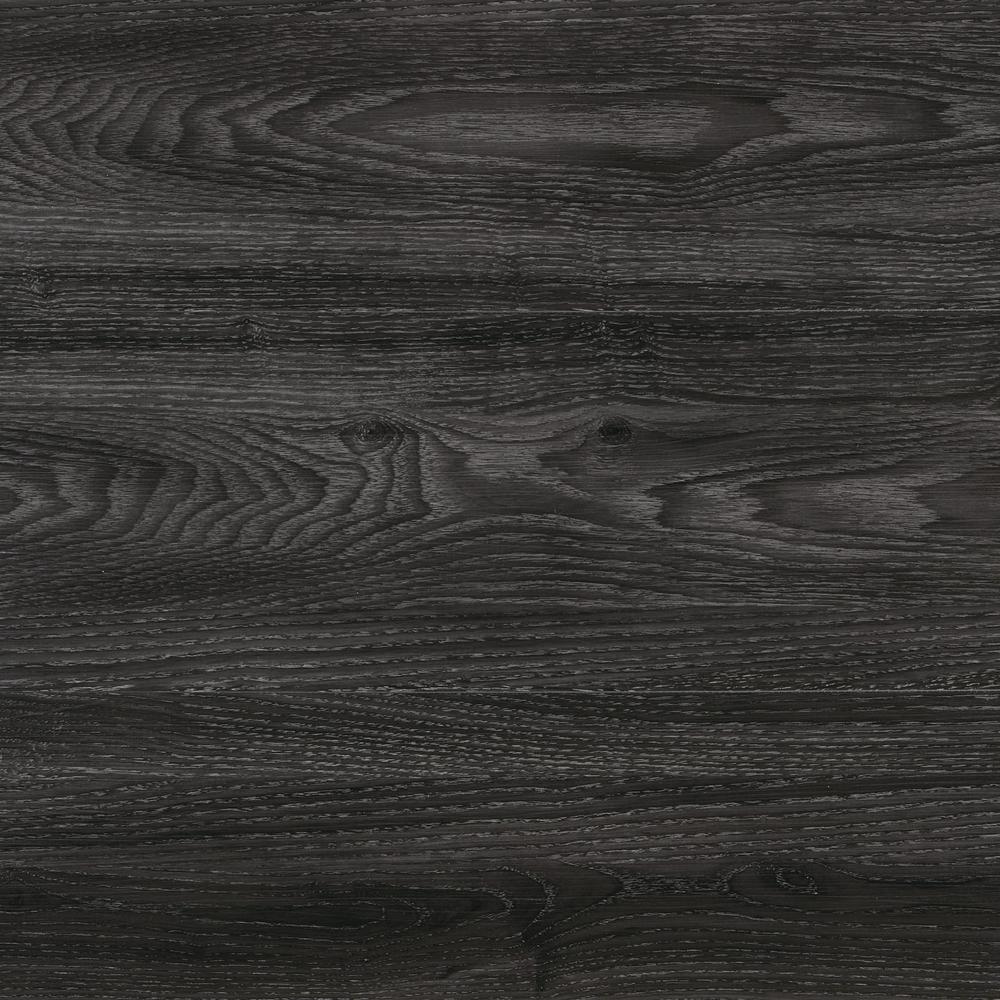black wood flooring home decorators collection noble oak 7.5 in. x 47.6 in. luxury vinyl plank IBFNOAI
