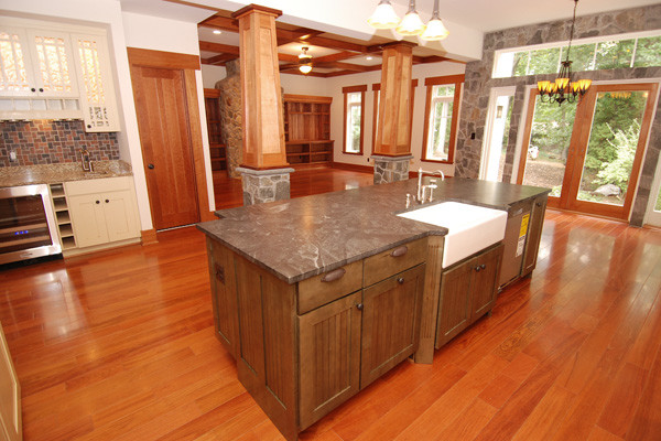 brazilian cherry wood floor kitchen brazilian cherry flooring - prefinished 3/4 BVUONVA