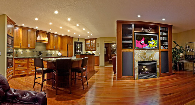 brazilian cherry wood floor kitchen hardwood flooring dealers u0026 installers. brazilian cherry in kitchen  contemporary-kitchen JWYSXKZ