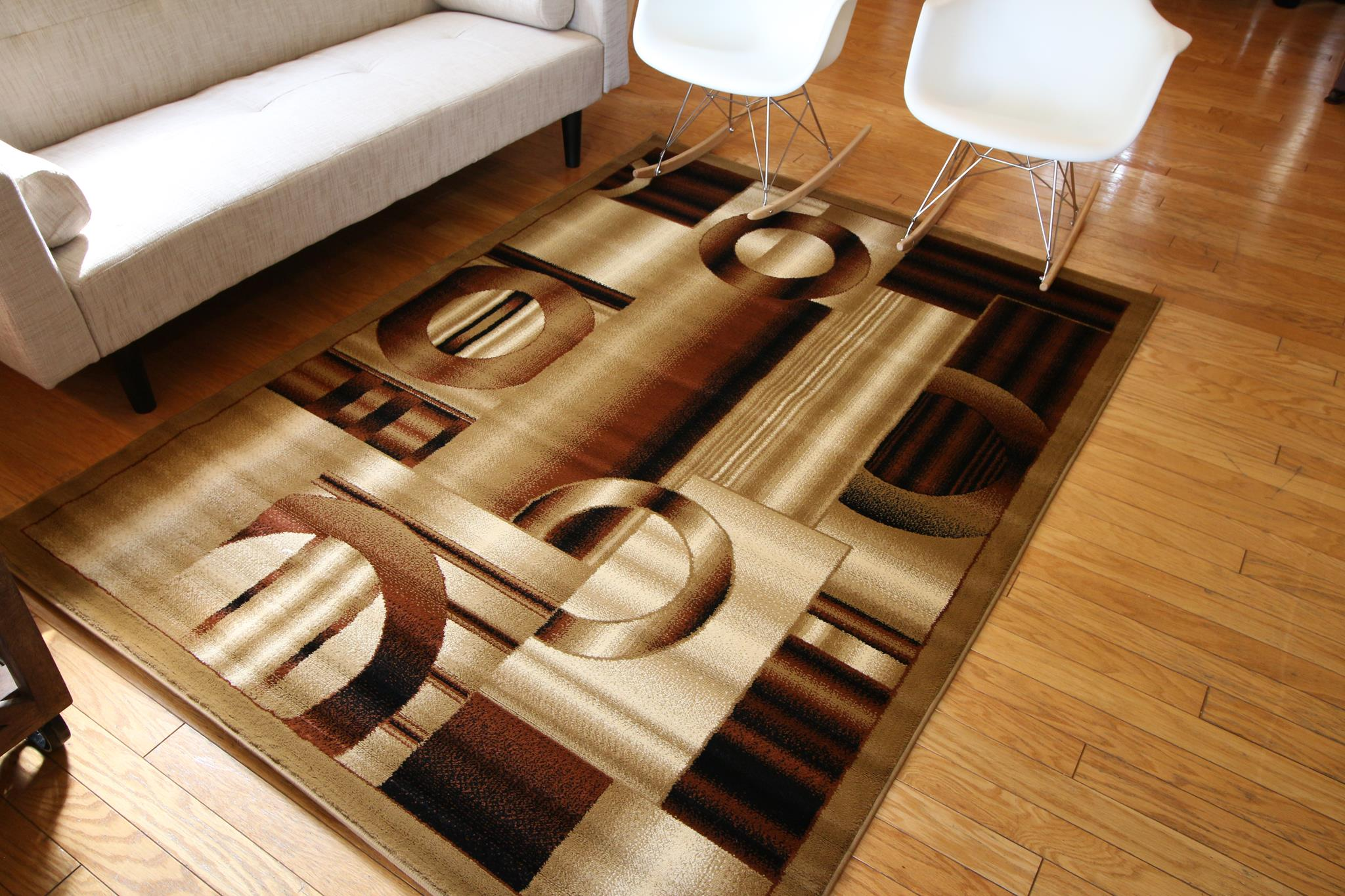 brown area rug with circles brown area rugs | area rugs | discount rugs | superior rugs BVPORKM
