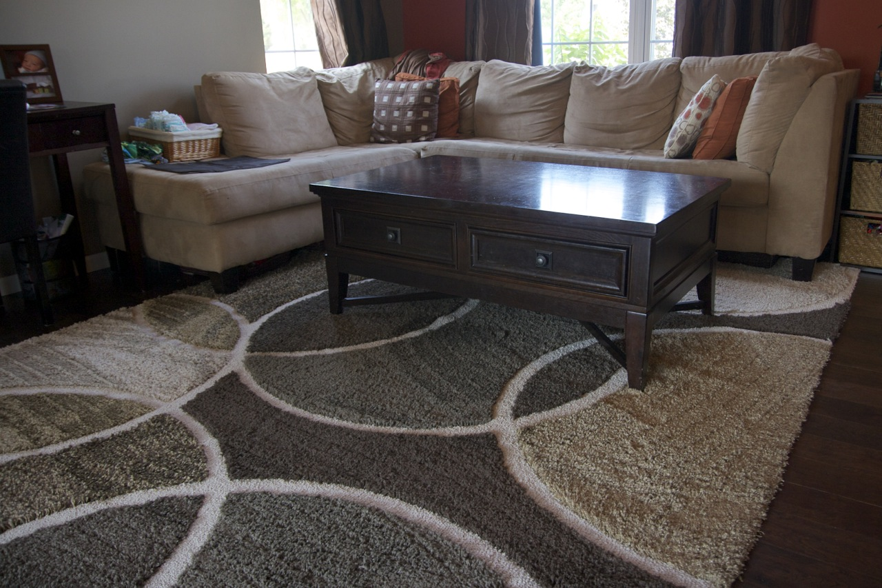 brown area rug with circles circle area rugs brown rug designs MLQTKFV