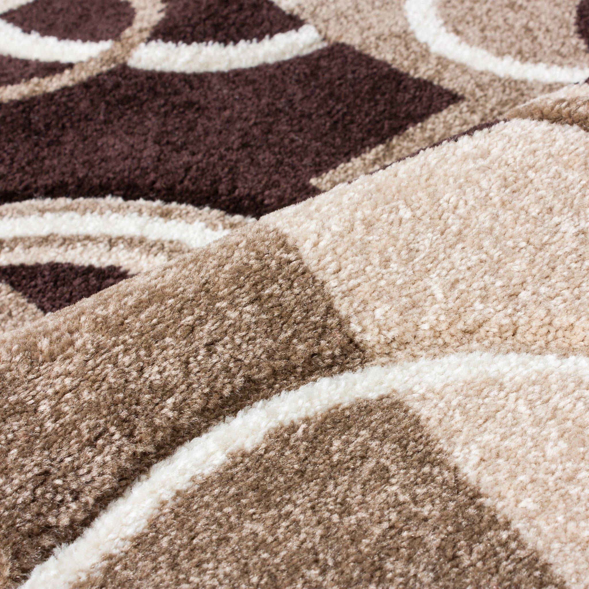 brown area rug with circles echo shapes u0026 circles beige brown geometric area rug WPMDUKE