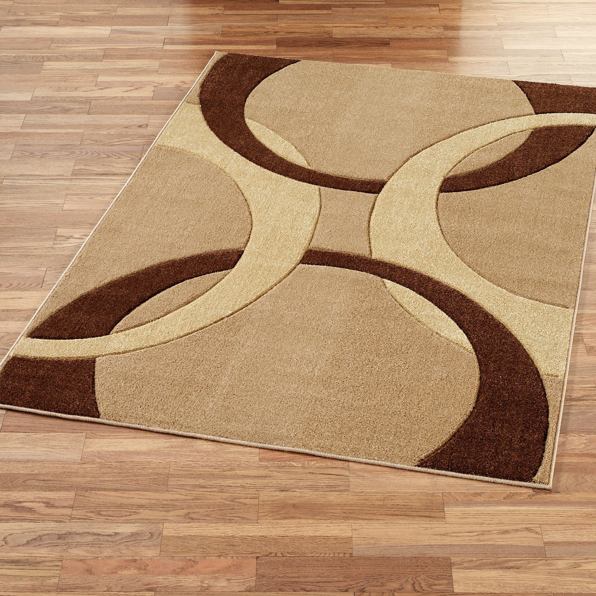 brown area rugs corfu contemporary rectangle rug brown FEYRJUU