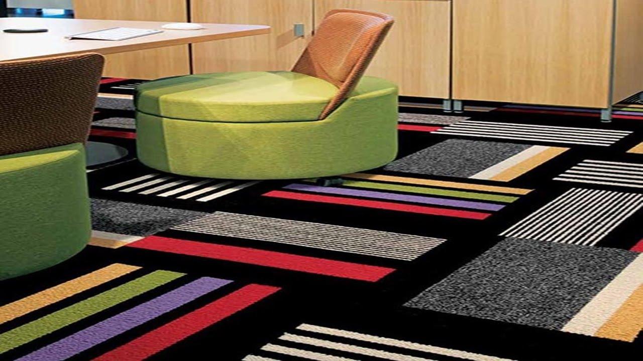 carpet flooring design floor carpet tiles designs - youtube IUOKSZM