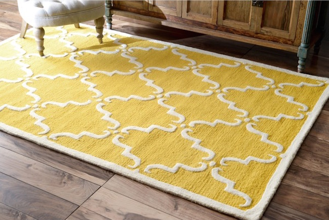 Carpet rug 25 yellow rug and carpet ideas to brighten up any room BPXEDVA