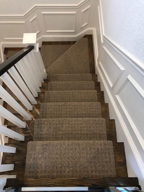 Carpet stairs prestige mills, cliffside, indigo ZXVEKTA