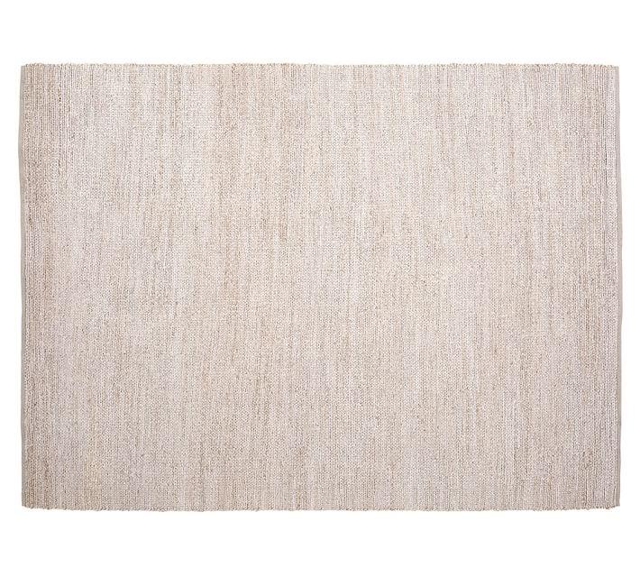 chenille rug heather chenille jute rug - gray | pottery barn VPBJMUW