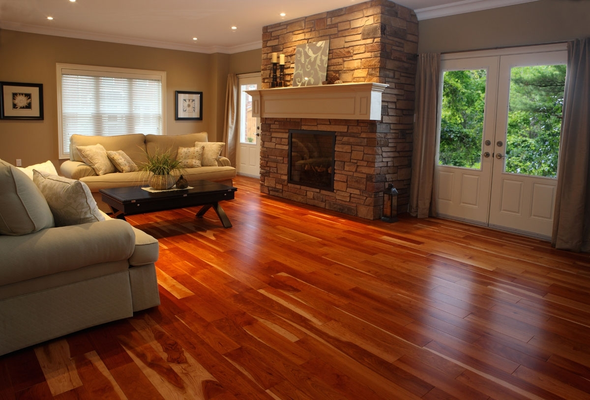 cherry hardwood flooring living room home ideas wooden floor ideas living  room JHPMUTE
