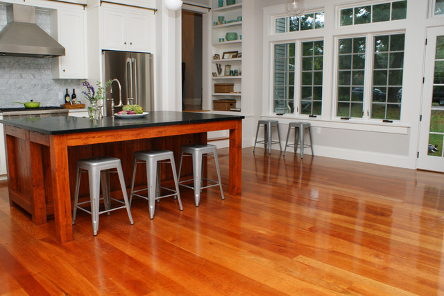 cherry wood flooring american cherry wood floors contemporary-kitchen UAIPEUB