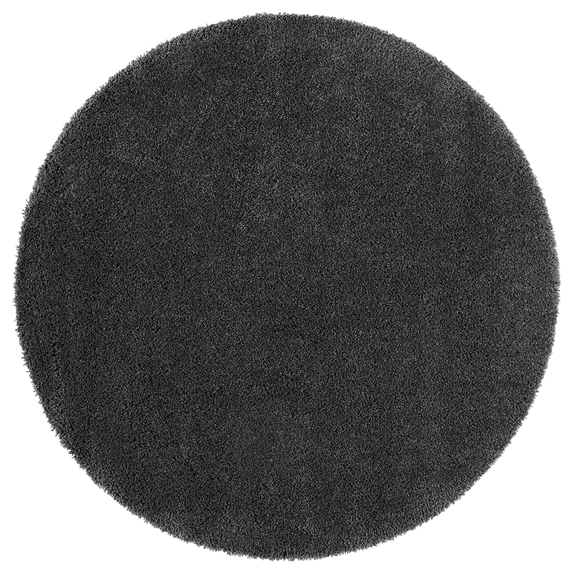 circular rug photo 3 of 5 ådum rug, high pile, dark gray diameter: 4 u0027 PWGRYBP