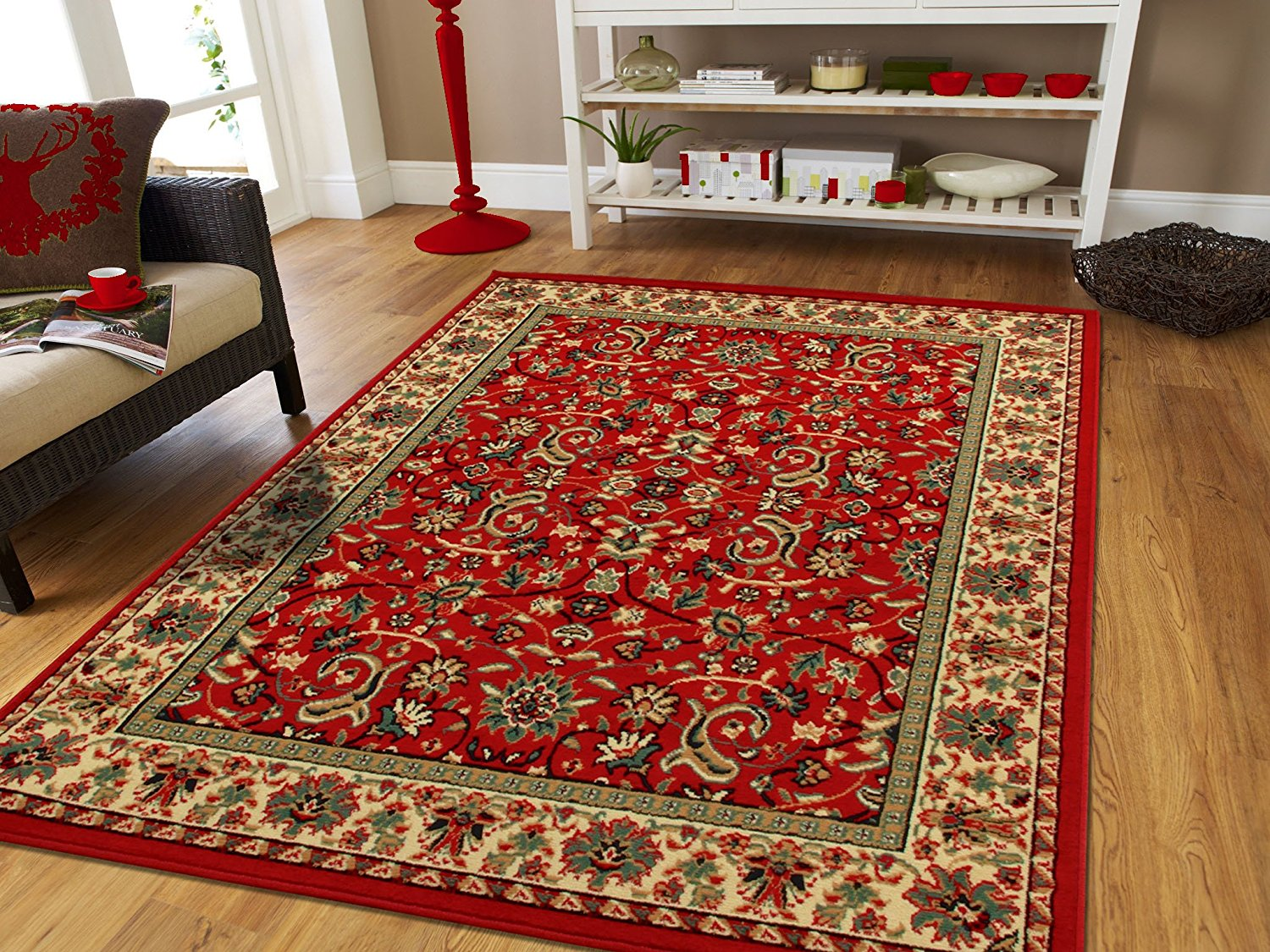 Clearance area rugs traditional area rugs on clearance 5x7 persian rug for living room 5x8 red YLIIZXA