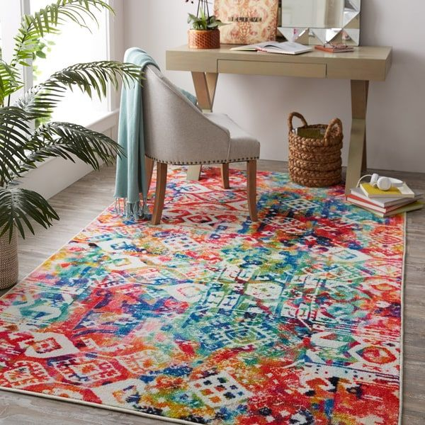 colourful area rug excellent 111 best colorful rugs and decor images on pinterest 2017 colors OWIRWGN