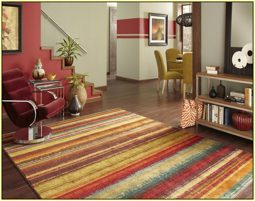 colourful area rug excellent multi colored striped area rug home design ideas intended for rugs NSSBMUQ