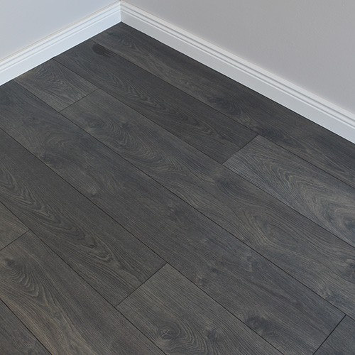 Commercial laminate flooring black laminate floor 12mm DIAUSAJ