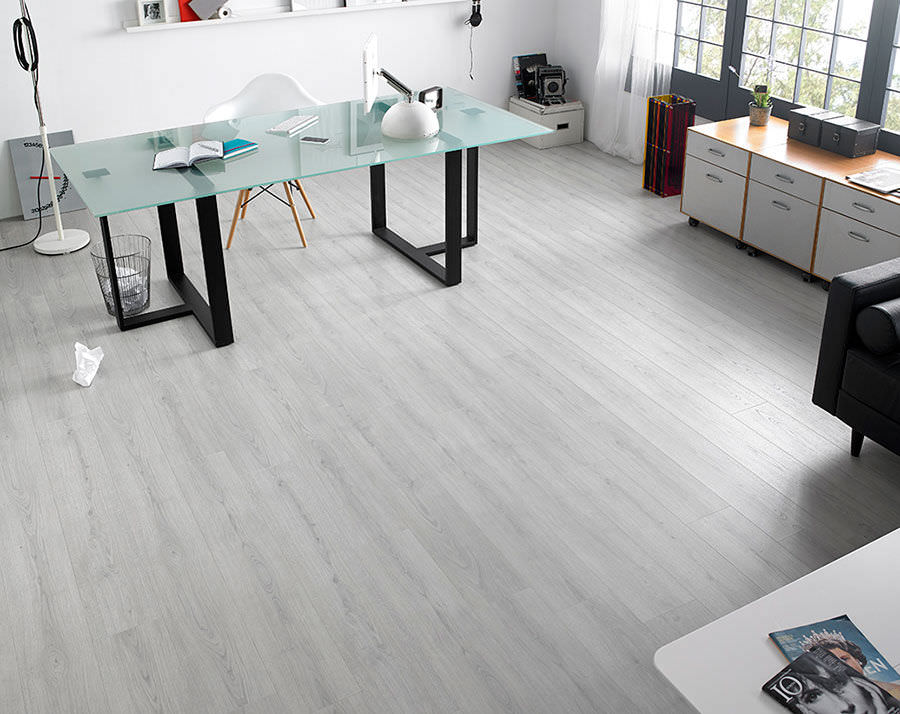 Commercial laminate flooring oak laminate flooring / floating / for domestic use / commercial - roble CBRXJHM