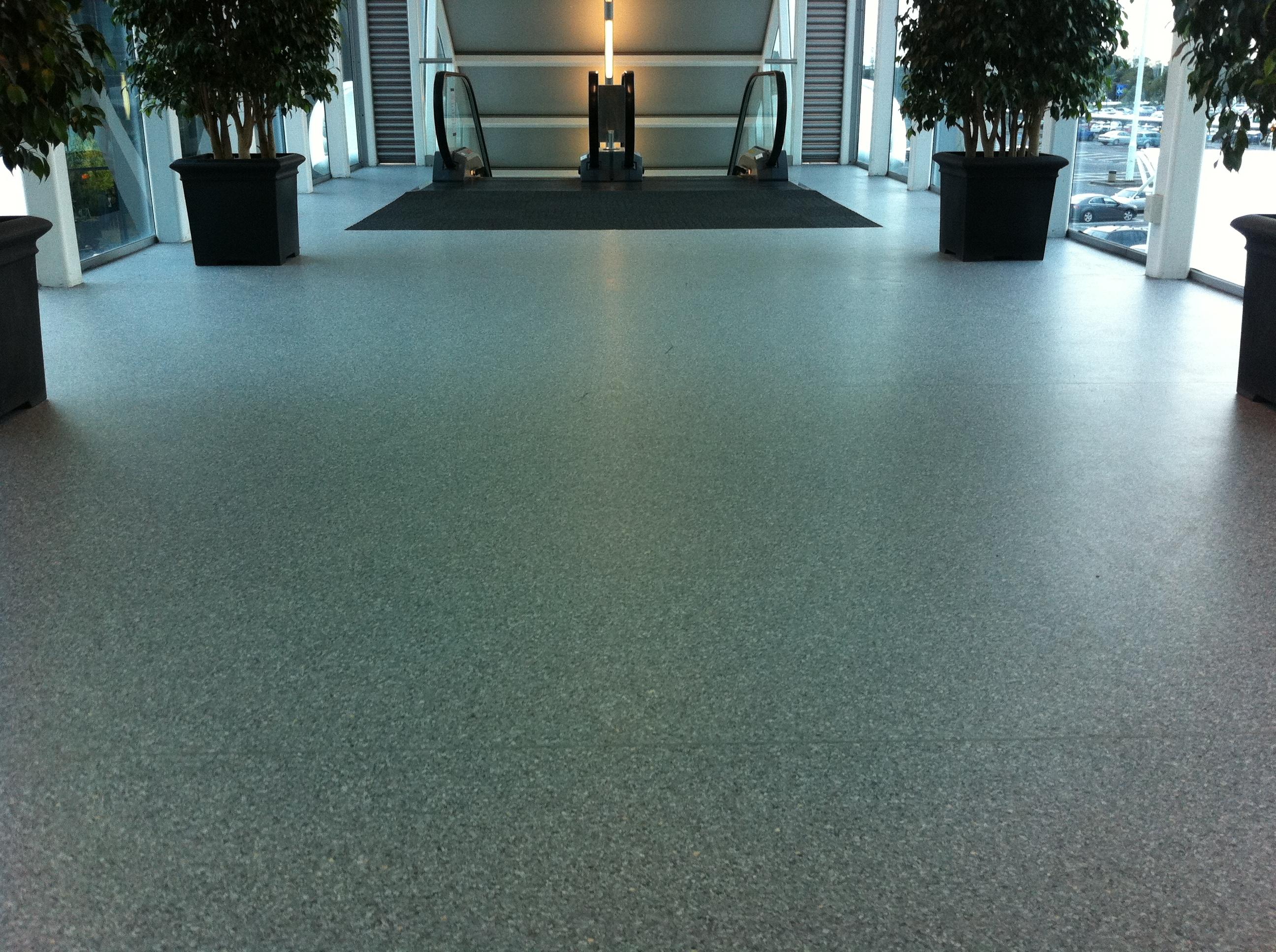 Designer commercial vinyl flooring