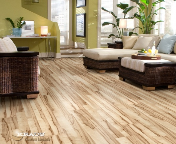 Contemporary floor laminating contemporary laminate flooring design for living room with rattan furniture FPPYZQC