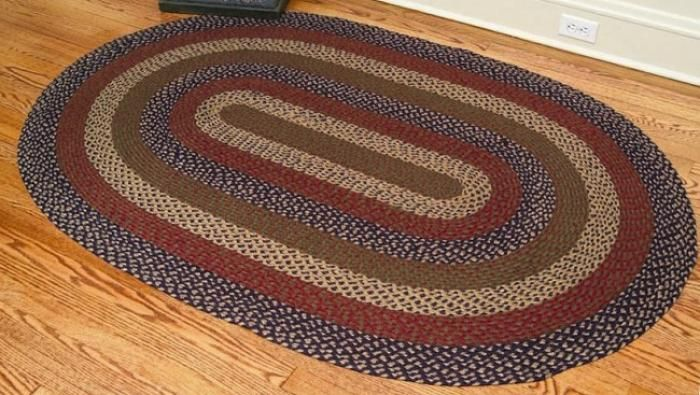 country braided rugs - ihf oval braided rugs - country decor, primitive NXALVYU