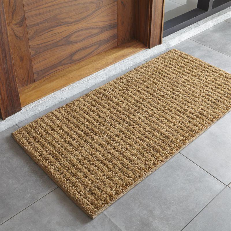 country rugs and door mats door mats and boot trays for indoor/outdoor | crate and barrel JLGBIJB