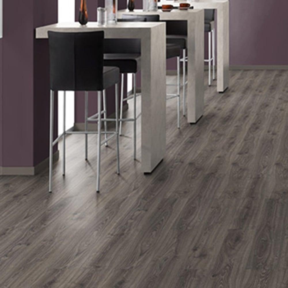 How to fix scratches on dark laminate flooring?